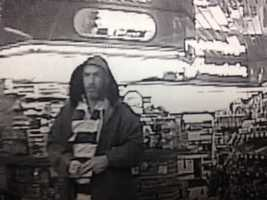 Police say the robbery happened about 1:30 a.m. Jan. 24 at the Shell gas station at 1015 Northside Drive.