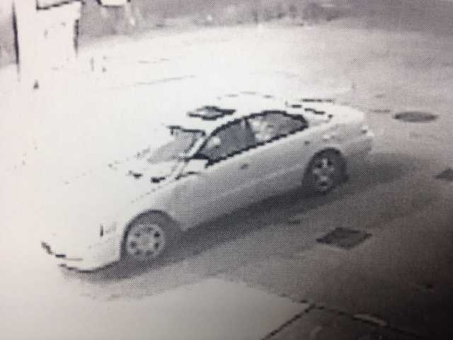 Police say the man left the scene in a white, four-door vehicle -- possibly an older-model Nissan Maxima.
