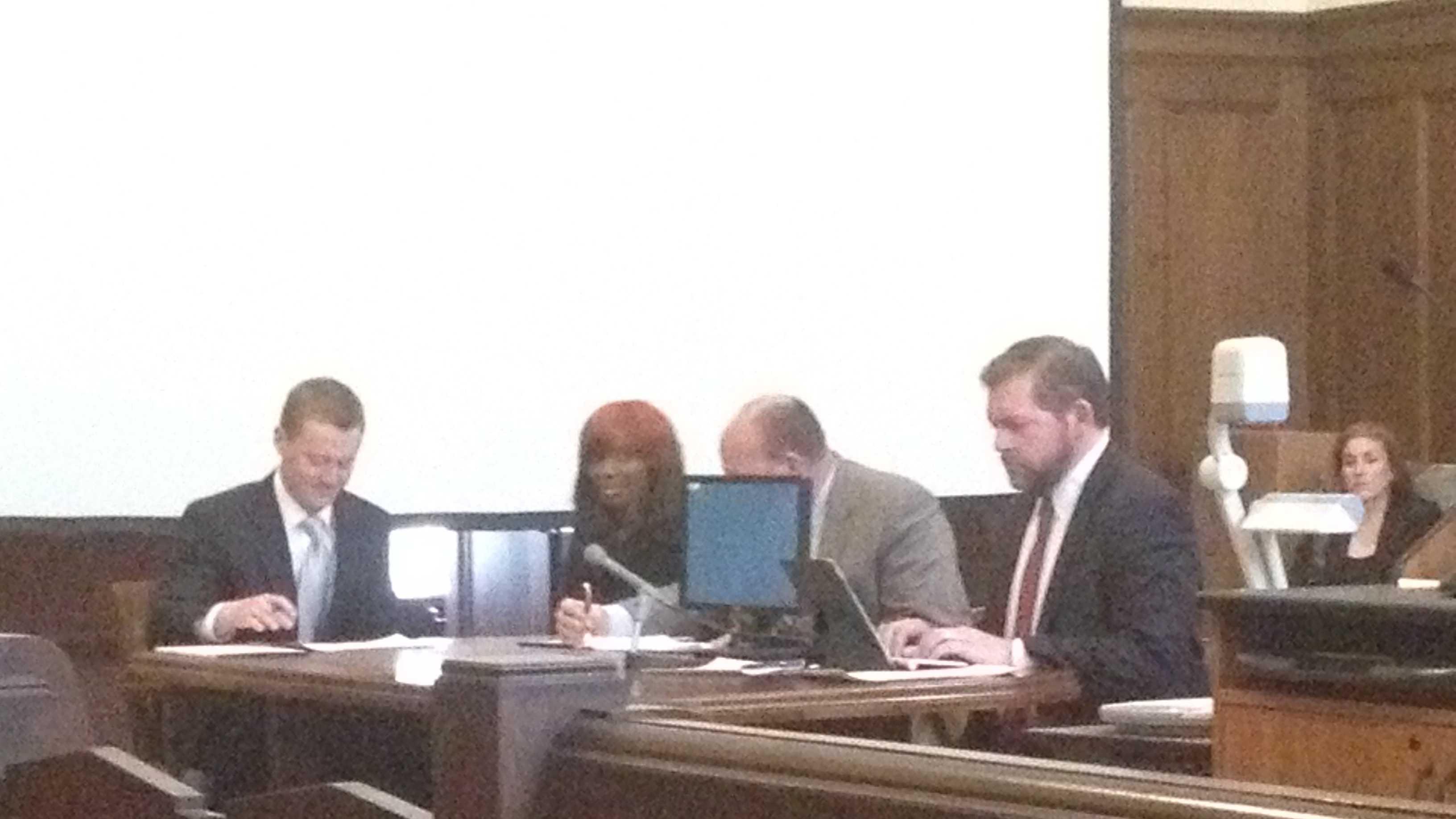 Natasha Stewart in court