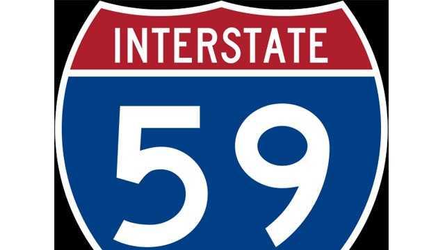 Interstate 59 sign