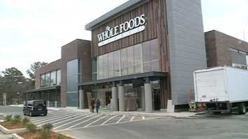 Whole Foods Market gives sneak-preview tours of its new store at Highland Village in Jackson.