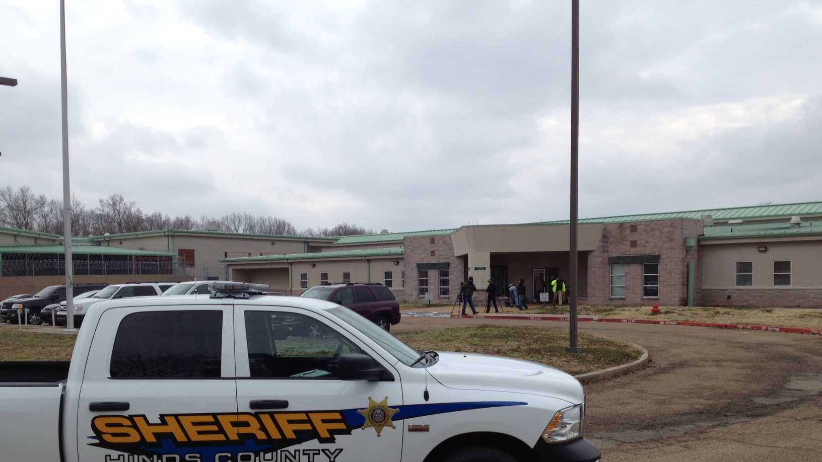 Hinds County detention center fire