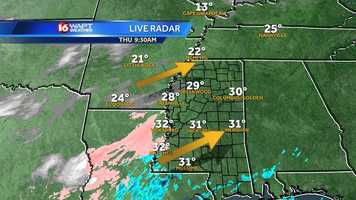 Winter weather, including sleet and snow, returns to Mississippi on Thursday. Click here for radar, alerts, weather webcast.