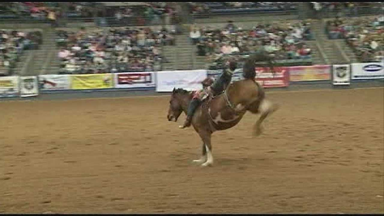 It's opening night at the Dixie National Rodeo and it's bringing big business to the area from all over the world.