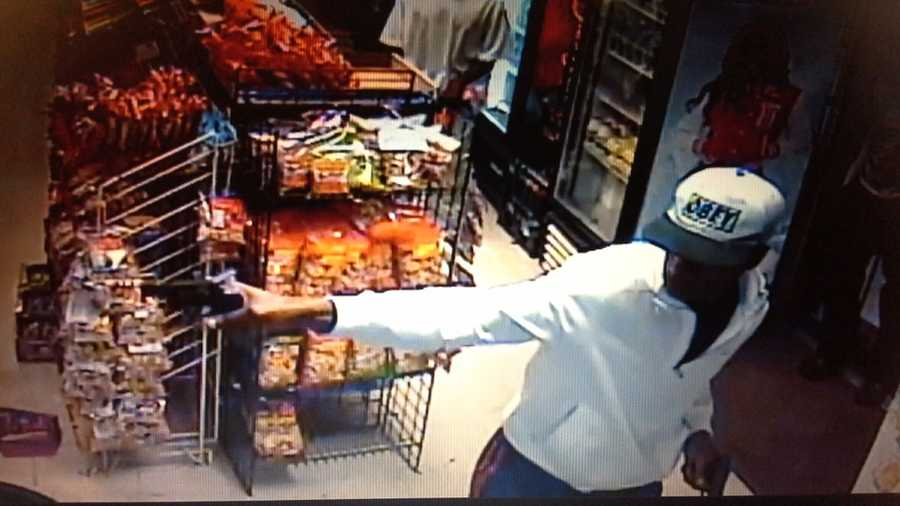 Jackson police release surveillance photos of a shooting at P&N Grocery Mart on Road of Remembrance.