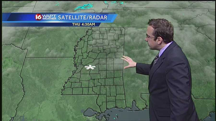 16 WAPT meteorologist Ethan Huston breaks down the storm to show what we can expect throughout the day Thursday.