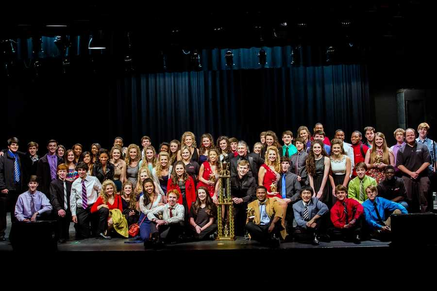 Clinton High School's Attache show choir has been named Grand Champion at the South Central Classic show choir competition.