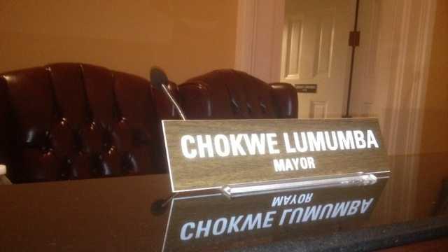 Lumumba's empty seat