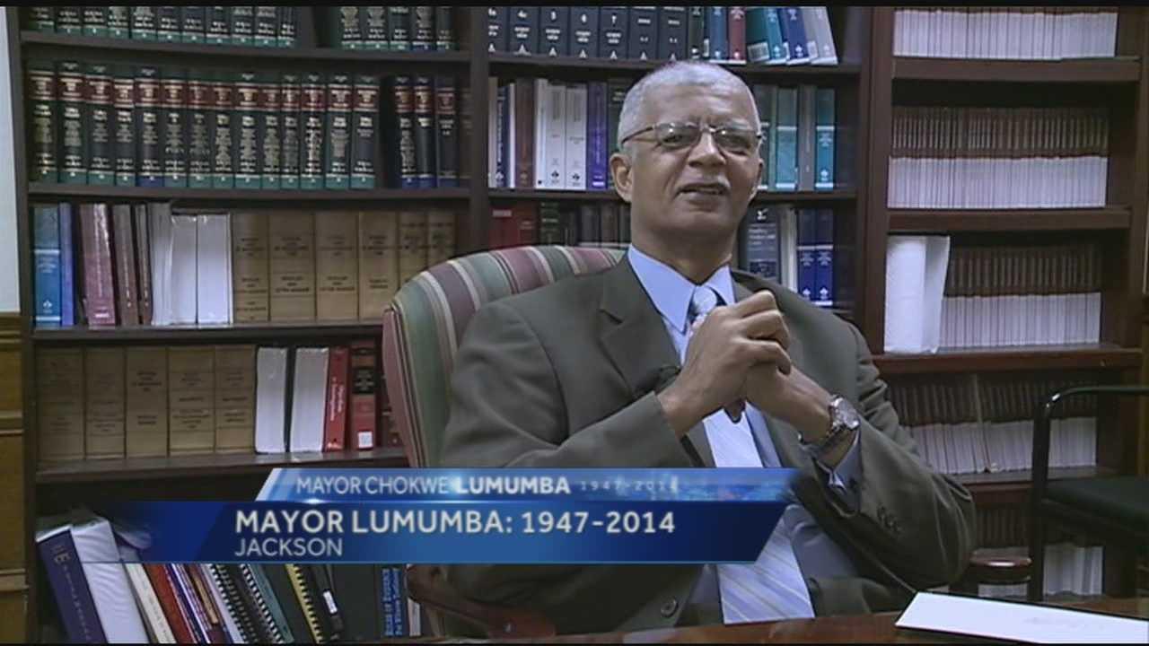 16 WAPT's Scott Simmons takes a look back at Jackson Mayor Chokwe Lumumba's life. The mayor died Tuesday at 66.