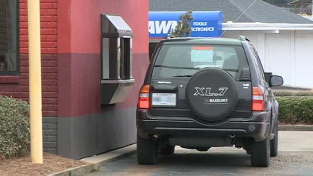 fast food drive through