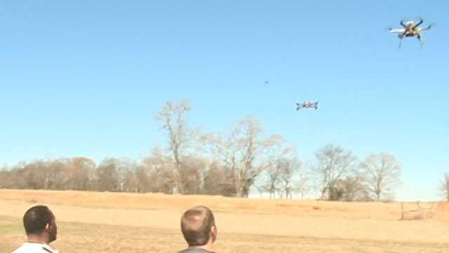 Drones over Mississippi