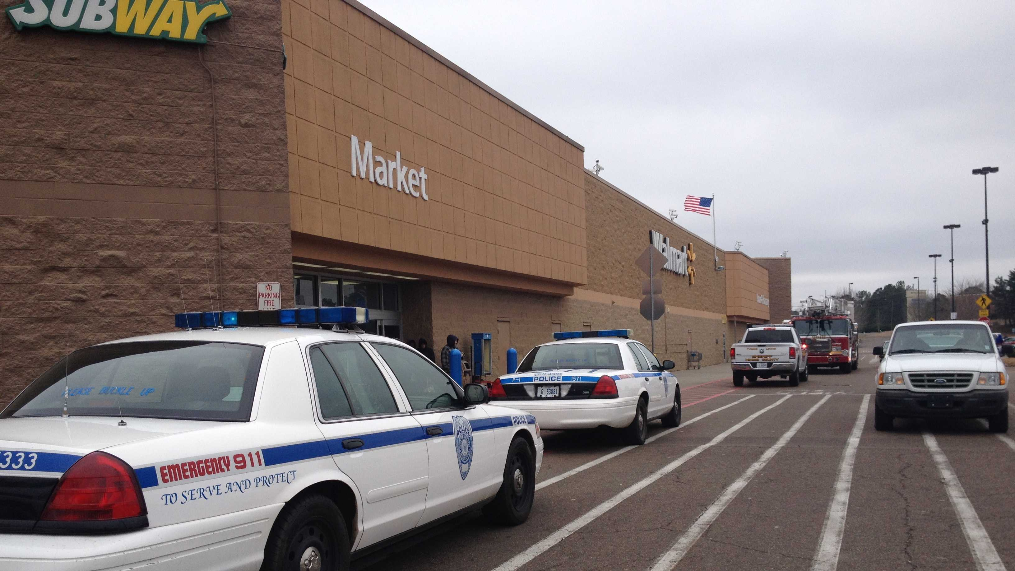Walmart flare gun incident