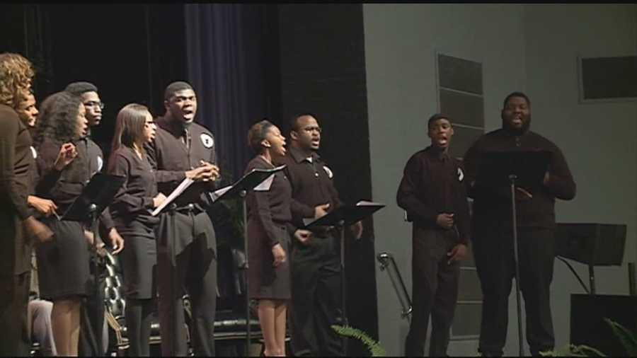 JSU held a memorial service Wednesday to honor Mayor Chokwe Lumumba. Click here for more pictures of the late mayor's time in office.