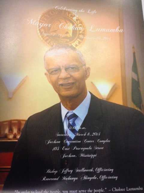 Mayor Chokwe Lumumba died Feb. 25 at age 66.