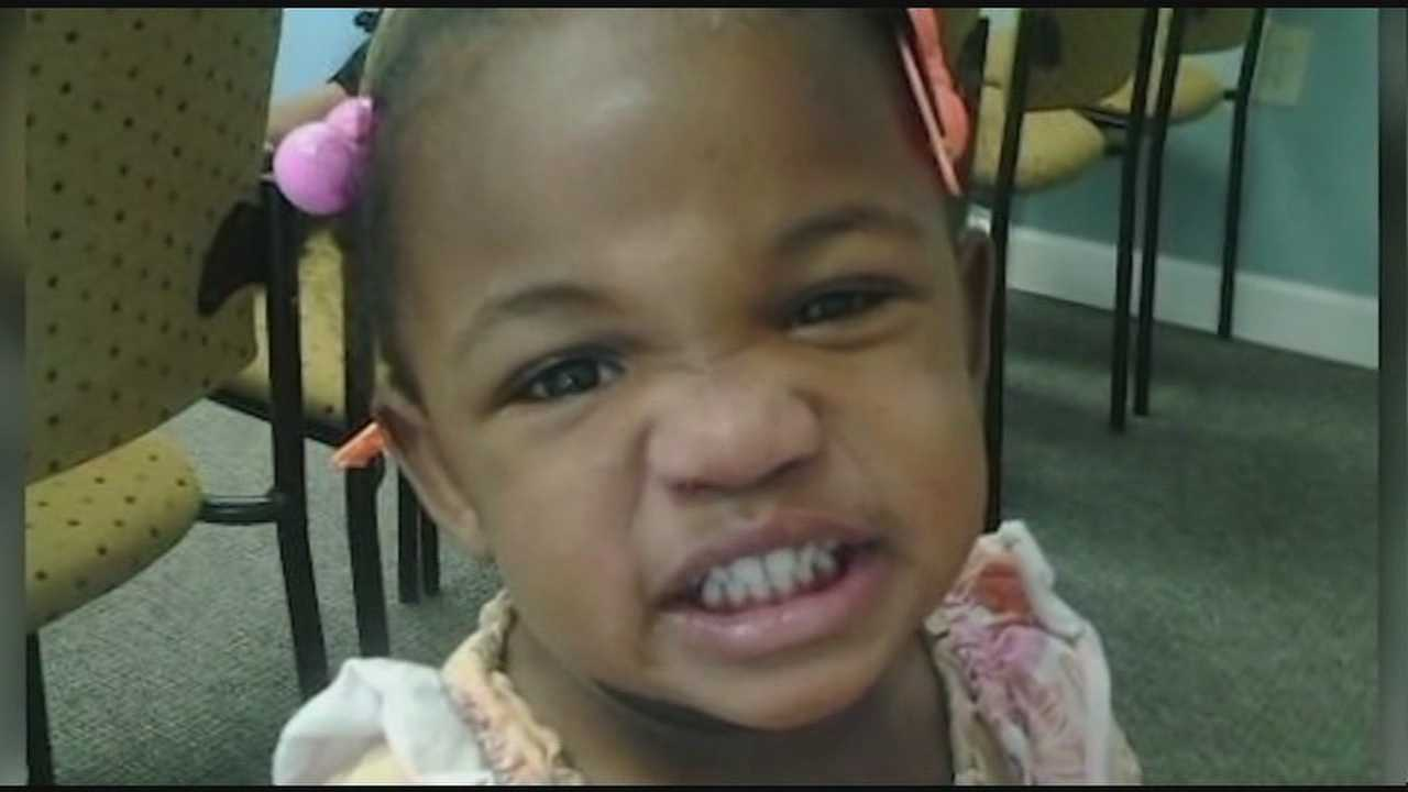 The search for two-year-old Myra Lewis continues.