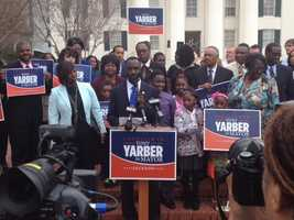 City Councilman Tony Yarber is a candidate for mayor.