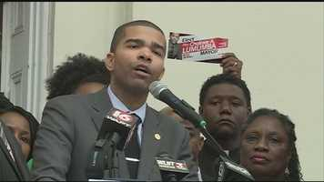 The late mayor's son, Chokwe Antar Lumumba, joins the race for mayor.