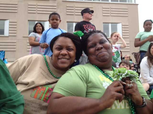 About 80,000 lined the streets of downtown Jackson for Mal's St. Paddy's Parade.
