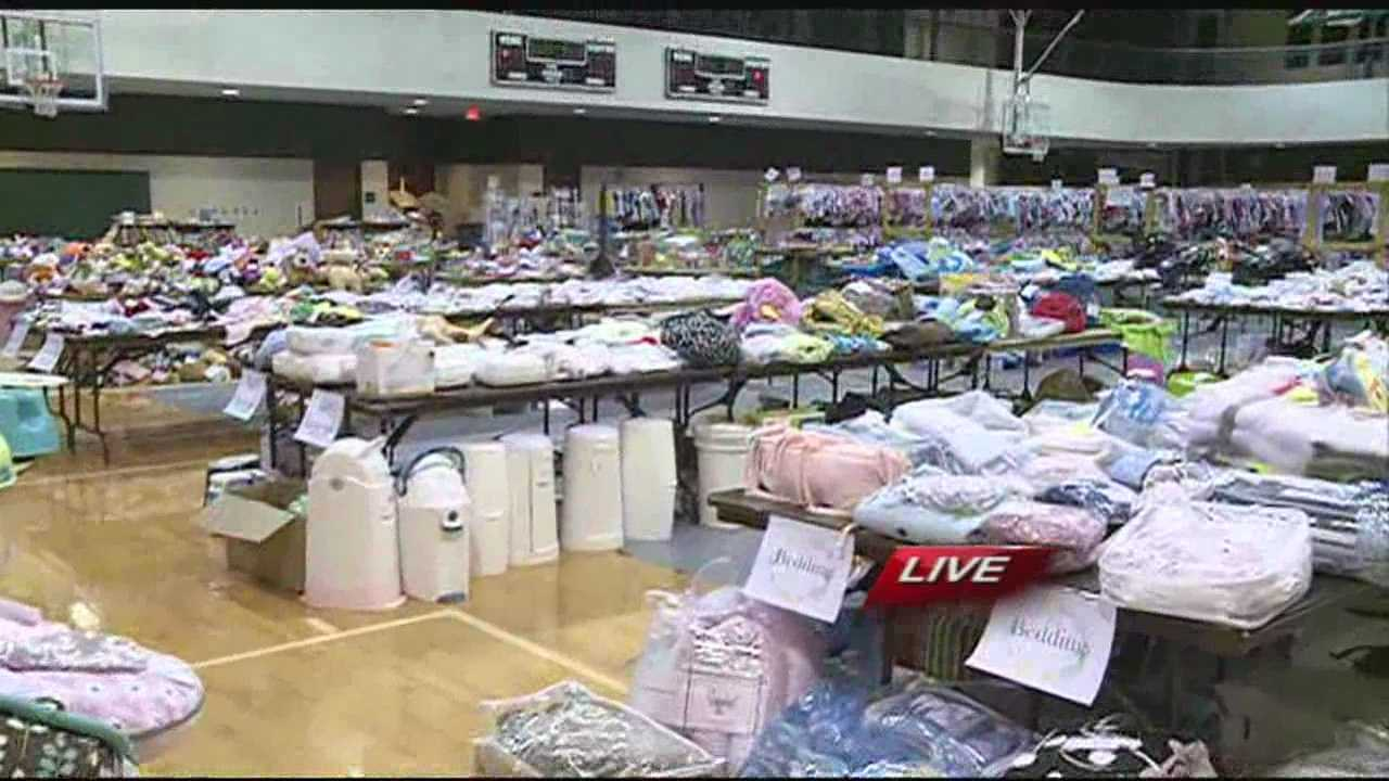 Little Feet Consignment Sale raises money for Christian missions organizations.