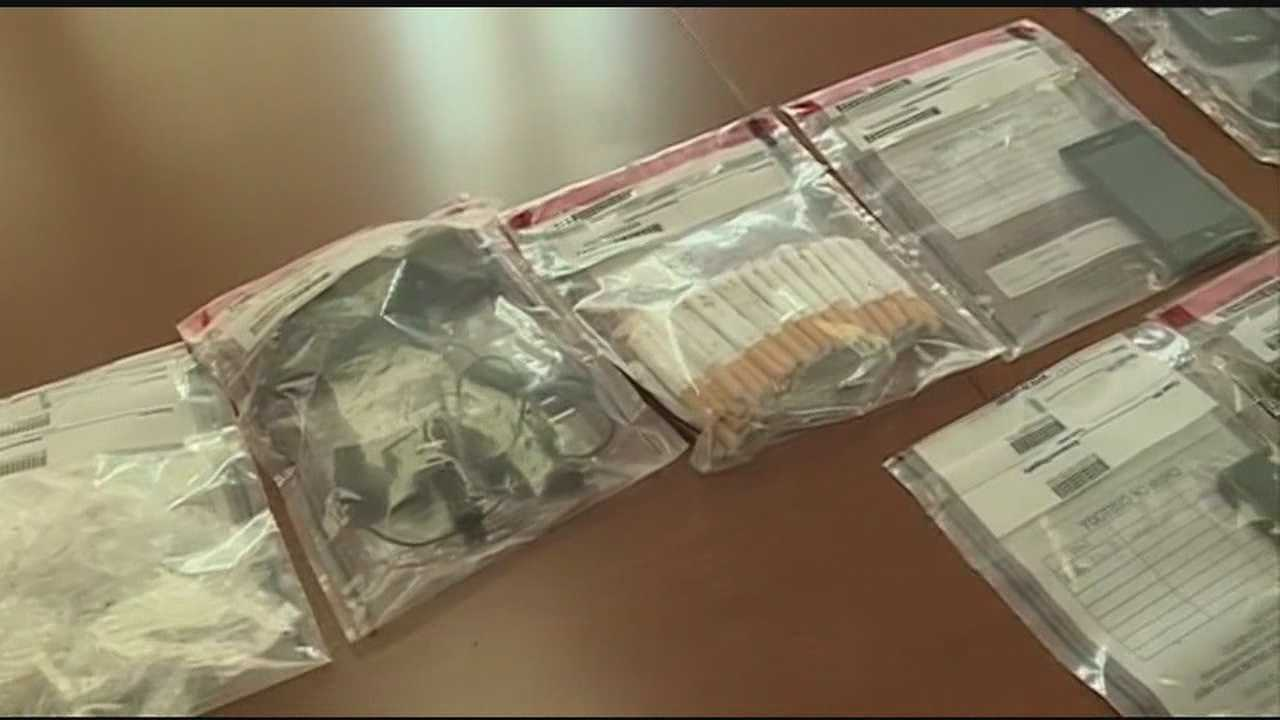 Hinds County contraband seized