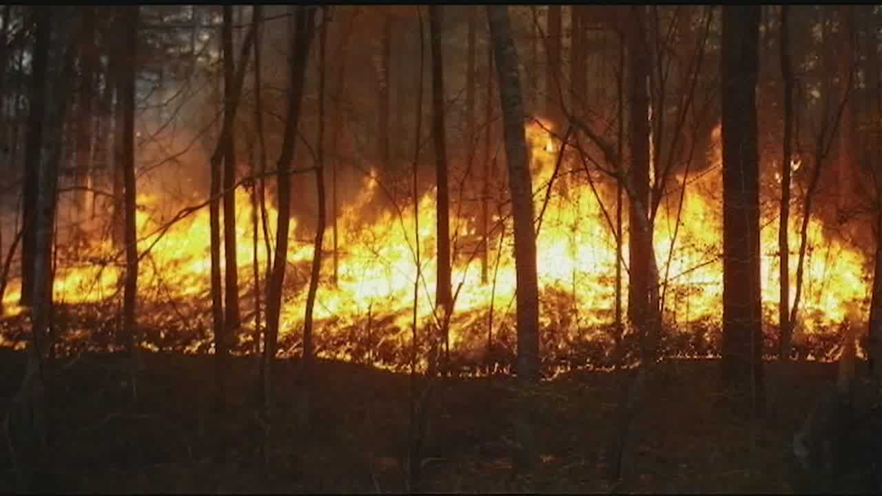 Four wildfires ignite in the area over the last two days.