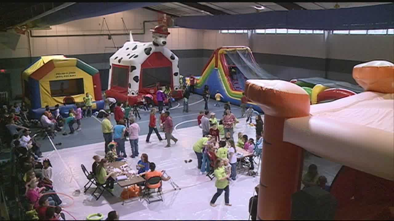 Graham Kidzfest kicked off this morning at First Baptist Church of Clinton.