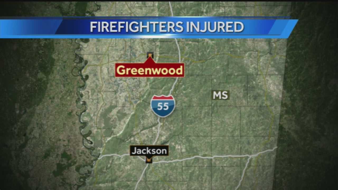 Greenwood fire map
