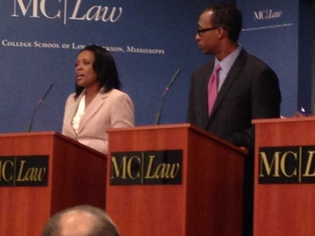 Regina Quinn and Melvin Priester Jr.