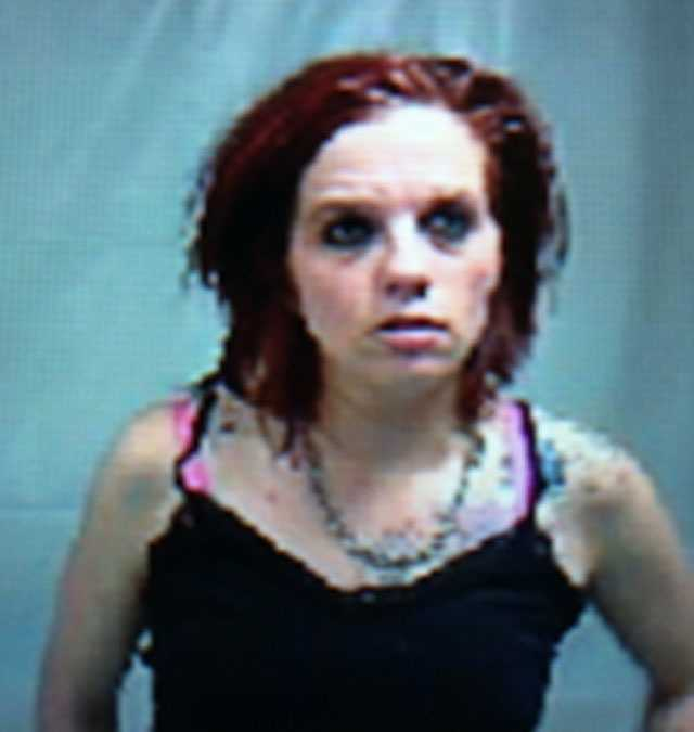Emily Campbell is charged with solicitation of prostitution.