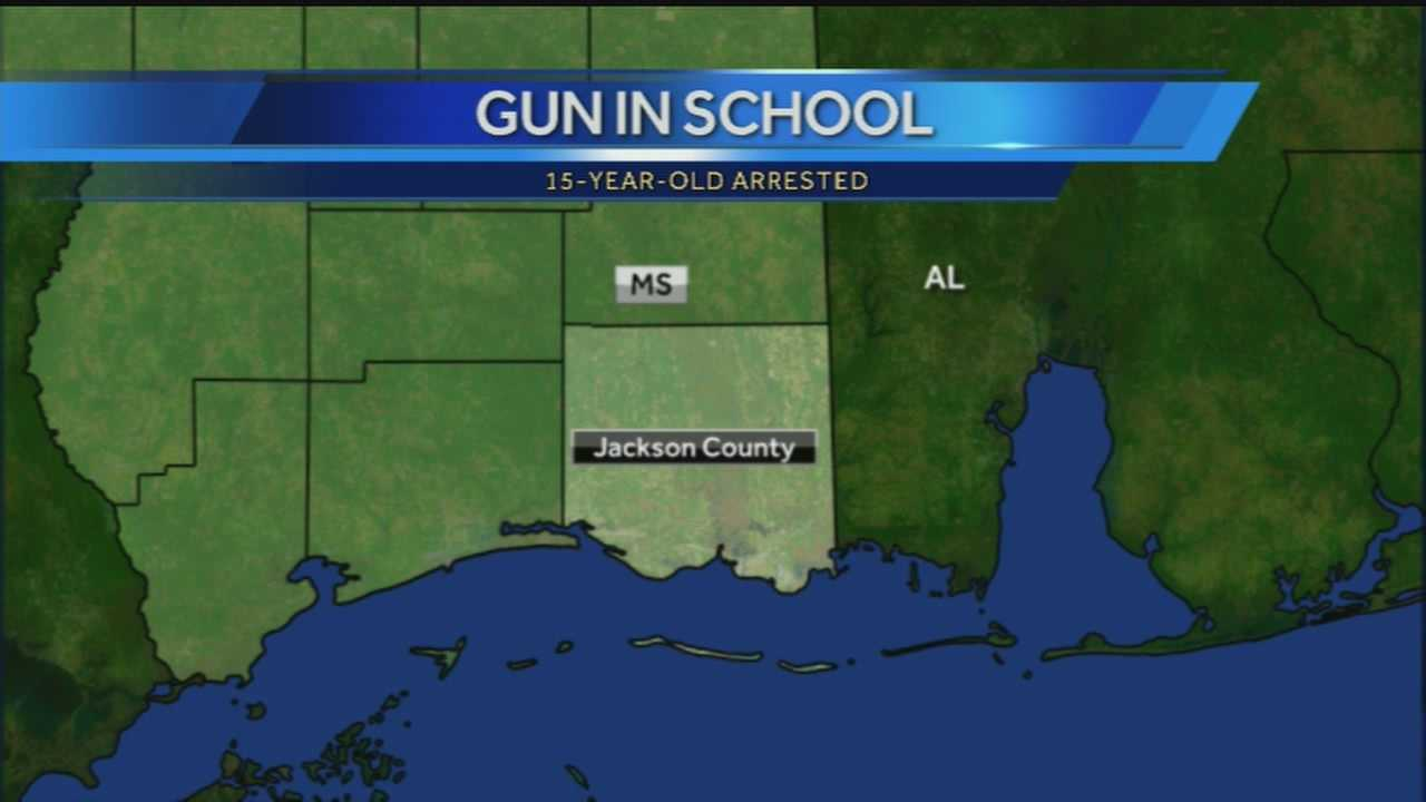 gun in school map