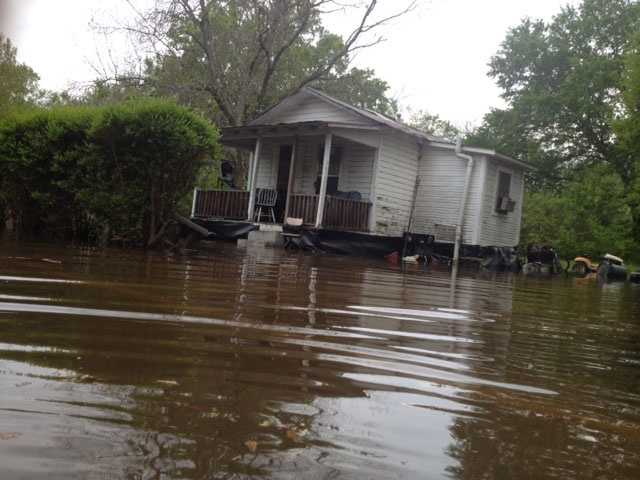 Flooding in Canton.