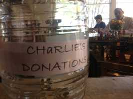 "Enjoy a ""Charlie Taco"" or any other taco on Babalu's menu and $1 will be donated to the fundraiser."