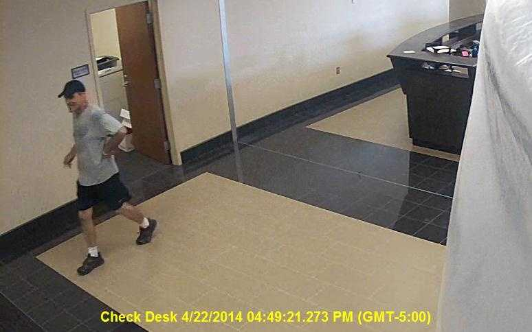 The man is suspected in the recent theft of a Rolex watch, cash and a white 2010 Toyota FJ Cruiser, Madison police say.