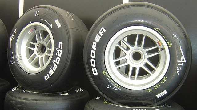 Cooper racing tires.