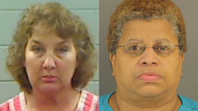 Sherry Perry and Rhonda Smith