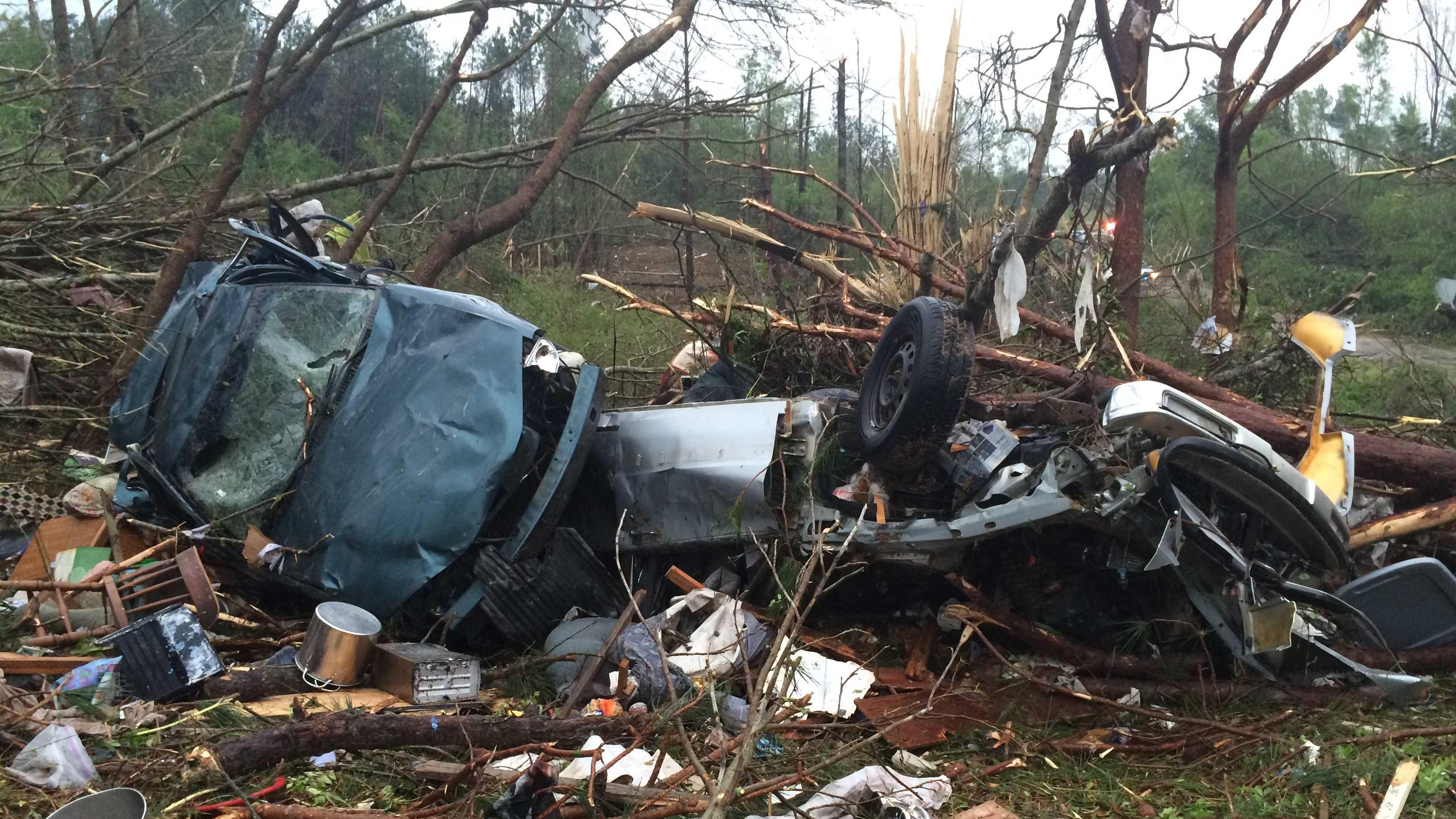 Leake County damage