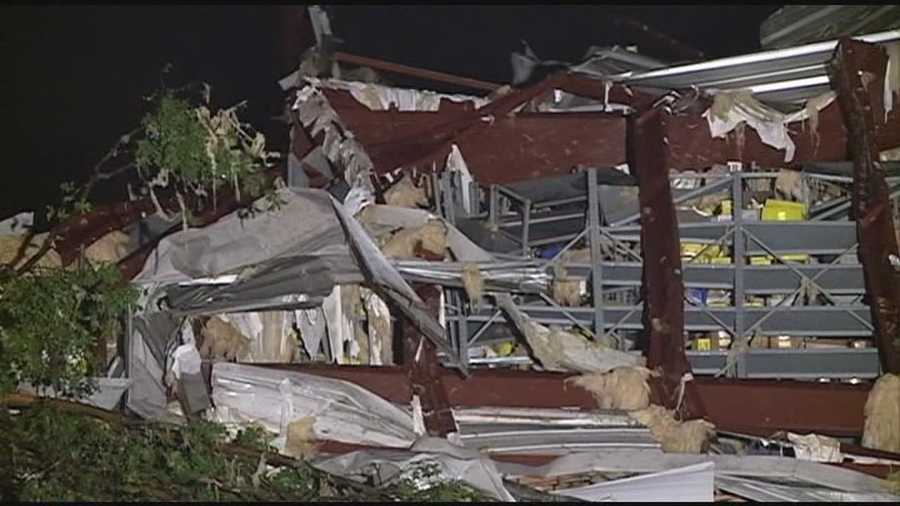A tornado ripped through Richland on April 28, leaving damage in its wake.