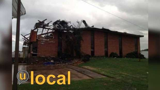 To see more photos of tornado damage from the u local community, click here.