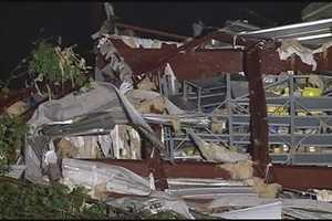 Click here for more pictures of tornado damage in Mississippi.