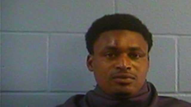 Jimmy Hill, 26, is charged with shooting into an occupied dwelling, shooting into a vehicle and two counts of attempted aggravated assault, Vicksburg police say.