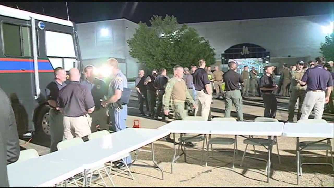 Several law enforcement agencies train to respond to potential terror threats in Jackson.