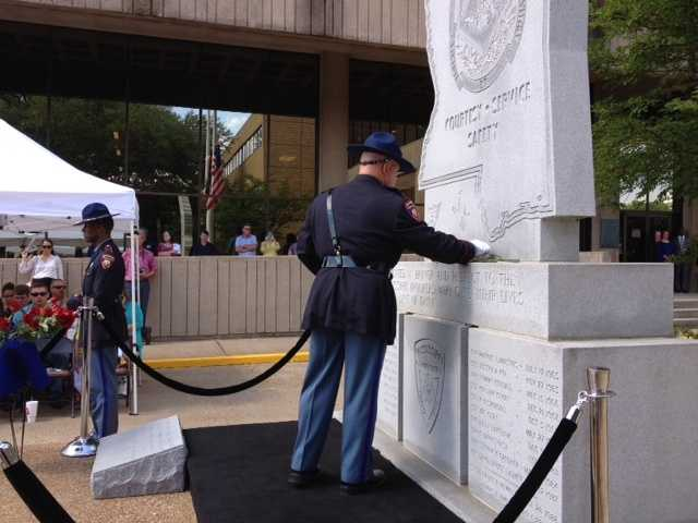The Mississippi Department of Public Safety honors the 32 men who have died in the line of duty during the 76 year history of the agency.