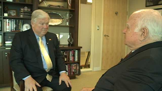 Former Gov. Haley Barbour sits down for an interview with 16 WAPT's Bert Case.