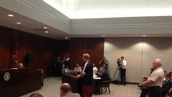 Richard Sager in court
