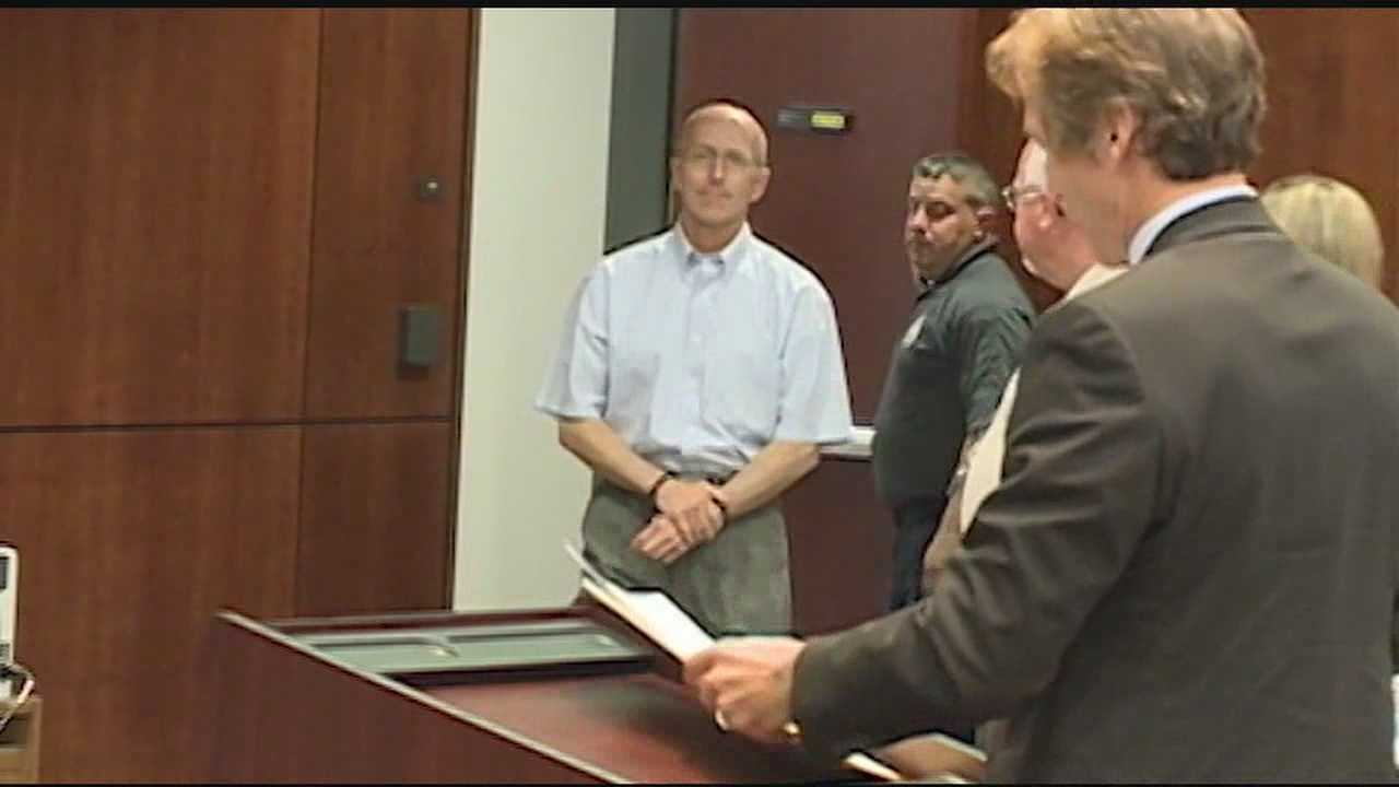 Mark Mayfield in court