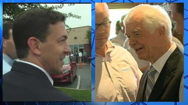 Chris McDaniel and Thad Cochran.