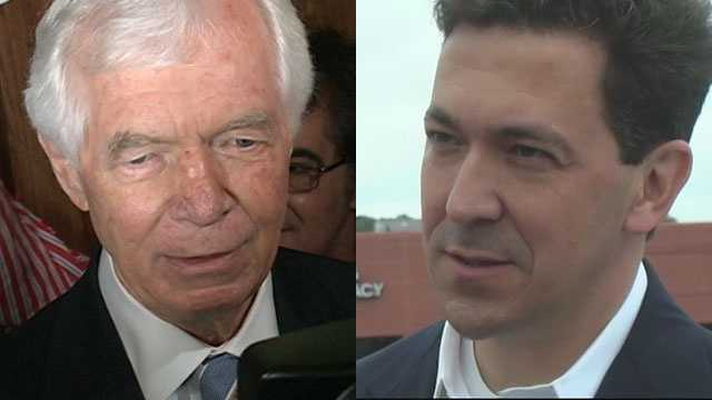 U.S. Sen. Thad Cochran and Chris McDaniel.