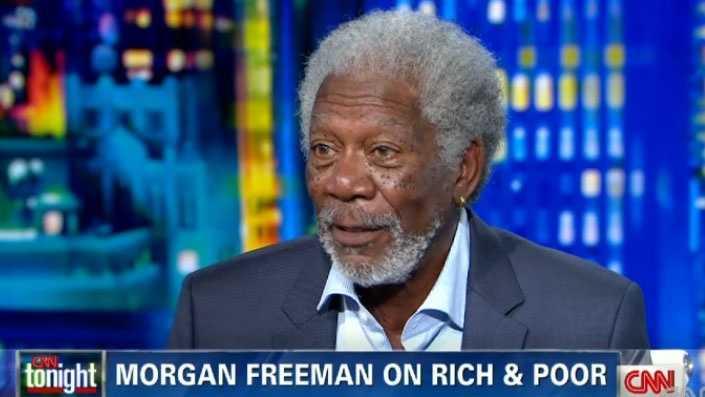 Morgan Freeman was interviewed by CNN's Don Lemon this week.