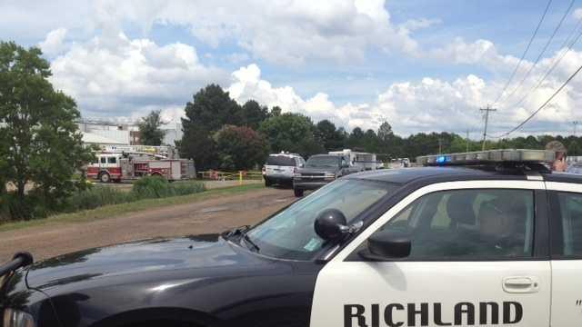 Richland ammonia spill