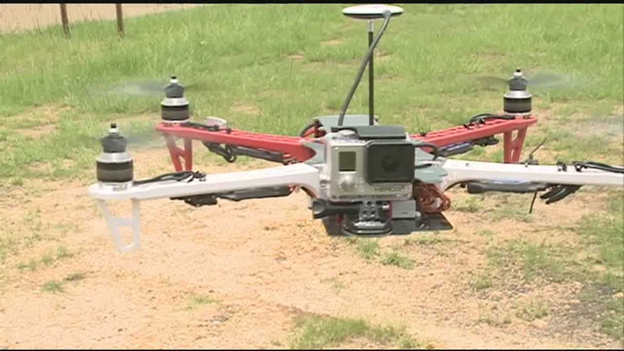 People in this area are buying drones from a local hobby store and using them for a variety of chores, as well as just for fun.